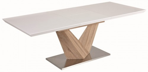 Jídelní stůl na středové noze - CS