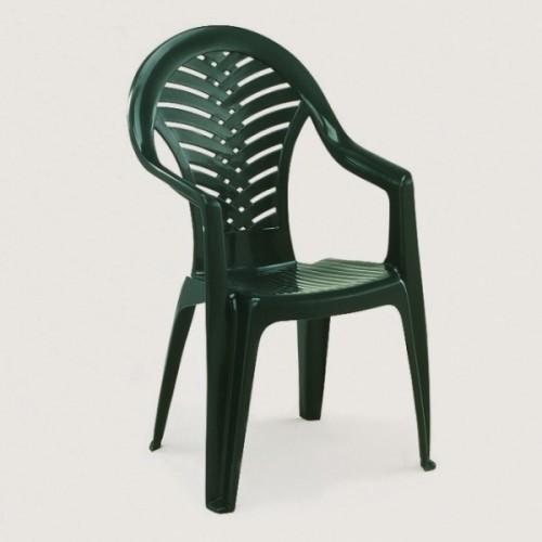 Plastová židle na zahradu i na balkon - UZN