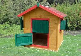 Barevný domek na zahradu