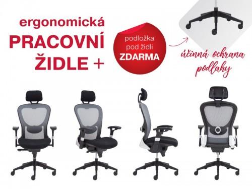 Pracovní křeslo + ZDARMA podložka pod kancelářskou židli - SG