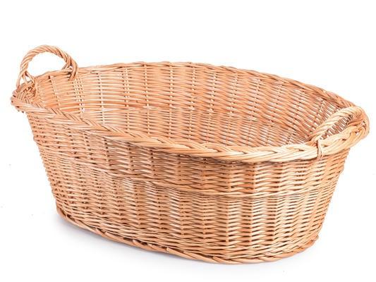 Proutěný koš na prádlo - JI