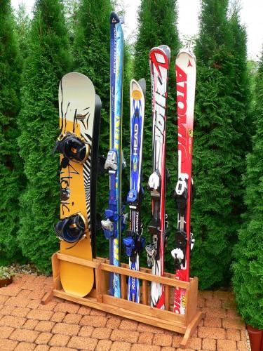 Držák na lyže a snowboard - HDB