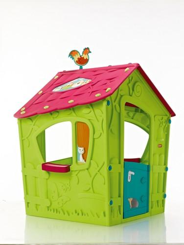 Dětský plastový domeček do bytu i na zahradu