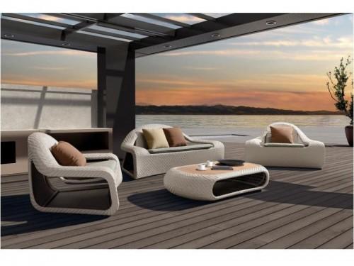 Pohodlná zahradní sedací souprava - IKT