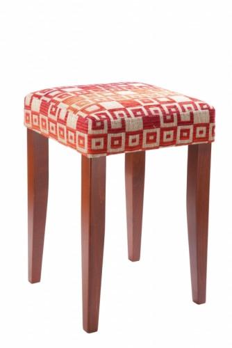 Čalouněná stolička z masivu - BRK
