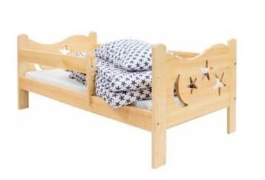 Dětská dřevěná postýlka-KN