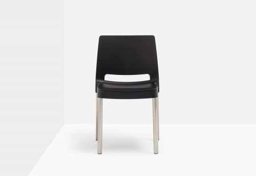 Italské plastové jídelní židle - PD