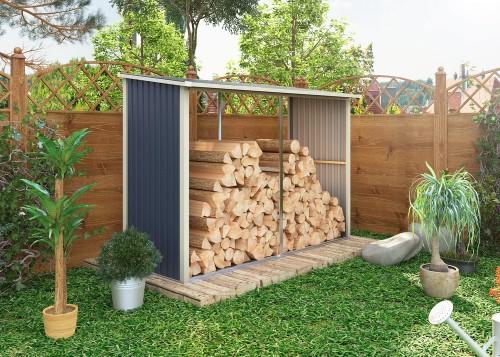 Přístřešek na dřevo-RJ